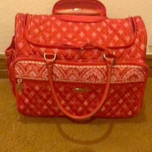 Vera Bradley Rolling Carry-On Suitcase